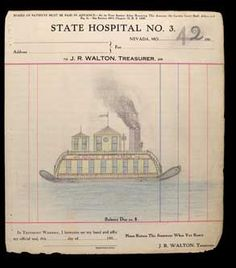 The Electric Pencil - drawings from a Missouri State Lunatic Asylum patient circa 1910