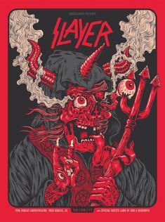 Artwork by Jason Abraham Smith Arte Heavy Metal, Heavy Metal Music, Heavy Metal Bands, Arte Zombie, Arte Punk, Rock Band Posters, Arte Nerd, Band Wallpapers, Metal Albums