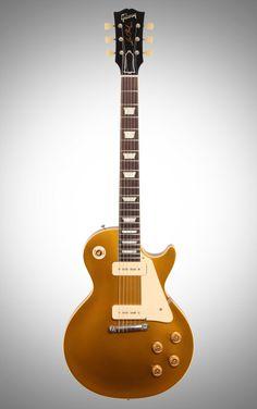 Gibson Custom 1954 Vos Les Paul Goldtop (2014) A Rare Hidden Gem - Original-Spec P-90s, Wraparound Tailpiece, & Striking Gold Finish.