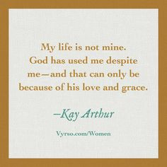 Kay Arthur image quote