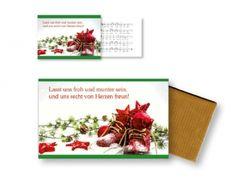 """#Schokolade """"Lasst uns froh und munter sein"""" mit #Faltkarte  #LOGO #Nikolaus #Stiefel"""