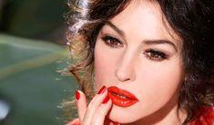 Monica Bellucci   campaign for Dolce & Gabbana lipstick