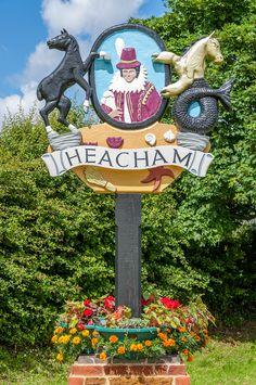 Heacham, Norfolk, England. Norfolk England, Norfolk Coast, England Ireland, Fairytale Cottage, Storybook Cottage, East Coast Usa, Town Names, Great Yarmouth, English Village