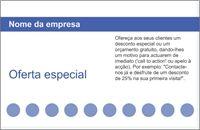 cartão da lealdade cartão da recompensa Cartões de visita standard