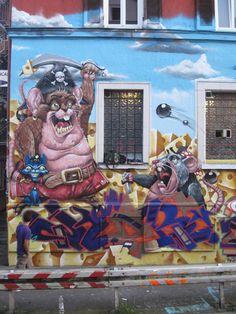 Street art | Mural by Duke103
