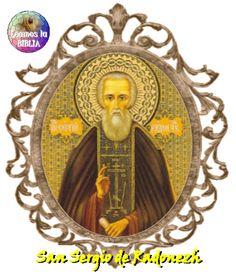 Leamos la BIBLIA: San Sergio de Radonezh - Abad