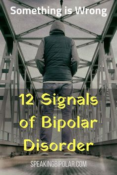 Bipolar Disorder can be very disruptive, but it is also very treatable. This post looks at 12 common signs of bipolar.   #Bipolar #MentalHealth #MentalHealthAwareness #BPD