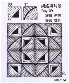 網絡與片段-Day-09  F2  T2  旋轉 光環 交替 陰影