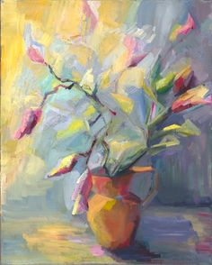 Lena Levin's painting  I love these colors
