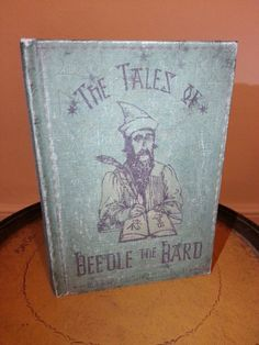 The Tales of Beedle the Bard ~ Antiqued Cover, contains actual text of the book by J.K. Rowling.