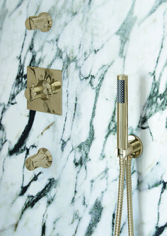 VADO is a leading British bathroom brassware manufacturer providing high quality taps, showers, accessories and fittings to customers across the globe. Bathroom Taps Uk, Gold Bathroom, Marble Bathrooms, Luxury Bathrooms, Shower Fittings, Shower Fixtures, Marble Interior, Bathroom Interior, Bathroom Trends