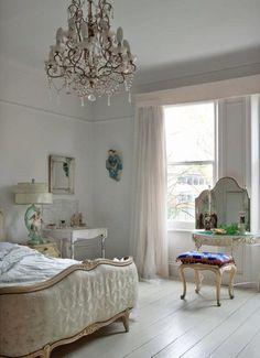 shabby chic bedroom | Tumblr