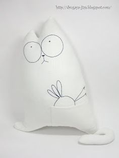 "Pillow ""Simon's Cat"""