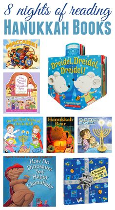 8 great Hanukkah books to share with your kids.