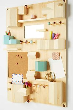 Hanging Desk Organizer - anthropologie.com