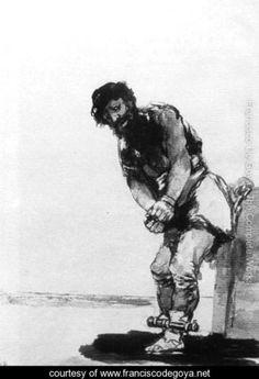Chained Prisoner - Francisco De Goya y Lucientes - www.franciscodegoya.net
