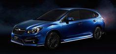 Автофория: Subaru Impreza Sport показывает гибрид для японско...