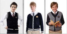 Best designer private school cardigans