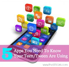 5 apps you need to know your teen/tween are using