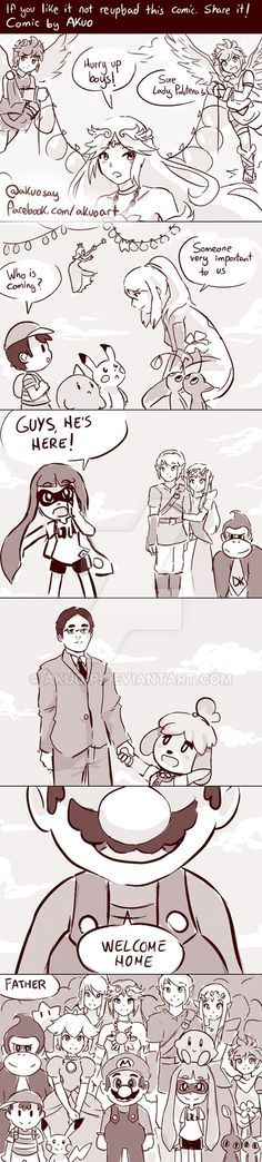 Good Bye Satoru Iwata, the father of Nintendo.-- I'm gonna cry - Oh my god