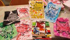 Monster Activities, Emotions Activities, Yoga For Kids, Art For Kids, Illustrations Médicales, Art Portfolio, Portfolio Fashion, Petite Section, Art Plastique