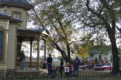 RANDOM PIC - A nice fall shot from our All Hallows event a few weeks back.