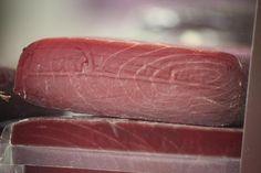 Mojama. Dried tuna.