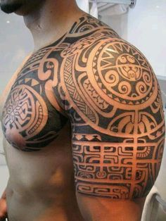 Maori #polynesiantattoosoberarm