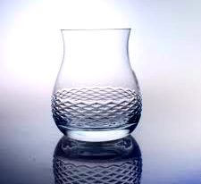 Monogrammed Diamond Scotch Glass from eThoughtfulThings.com