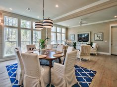 Chi-Mar Construction family room in Seacrest, Florida. http://chimarconstruction.com/