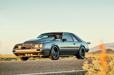 1986 Ford Mustang Gt Front Quarter