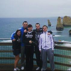 Throwback to 2009 looking like a bunch of knackers travelling the great ocean road in Australia  #tbt #throwback #oz #greatoceanroad #twelveapostles #travelling #friends #memories #funtimes #australia by louiflynn