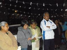 Acompañando a mis hermanos de la capilla de la Virgen de Guadalupe en su 2° día del novenario.