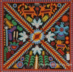 Mexico travel tips: Huichol Indians folk art