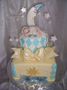 Twinkle Twinkle little star Baby Shower Cake