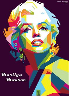Marilyn Monroe by adityasp   | This image first pinned to Marilyn Monroe Art board, here: http://pinterest.com/fairbanksgrafix/marilyn-monroe-art/ || #Art #MarilynMonroe