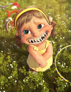 Save Your Smile, superbes créations 3D by Vitorugo Queiroz