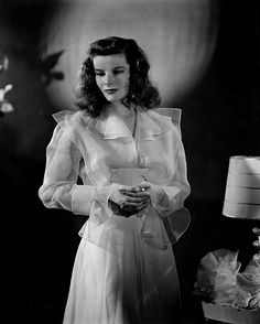 Katharine Hepburn wears Valentina - and one of my favorite outfits - in The Philadelphia Story via Artifact Vintage