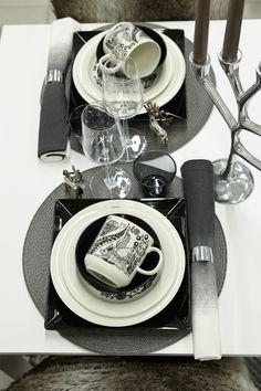 #kodin1 #joulu #talvi #mustavalkoinen #kattaus #astiat Dining Rooms, Kitchen Dining, Kitchens, Kitchen Appliances, Table Settings, Dinner, Creative, Diy, Home Decor