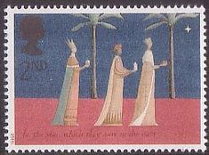 Christmas 2nd Stamp (1996) The Three Kings