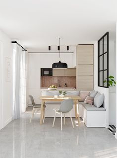 E-design project: Small kitchen design by Eleni Psyllaki of My Paradissi. http://amzn.to/2s1s5wc