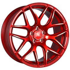18 inch STAGGERED BOLA B8R 5x114.3 RED 5 stud Dodge Toyota alloy wheels