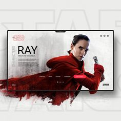 Star Wars The Last Jedi UI / UX on Inspirationde