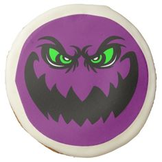 Evil Halloween Ghoul Face Sugar Cookie and More Customizable Products at Zazzle > http://www.zazzle.com/foxxytees/gifts?cg=196506768221917480&sr=250059466403302776