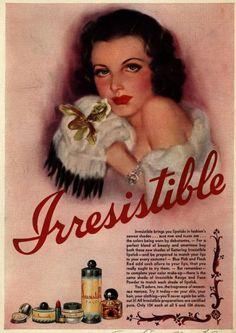 Vintage Makeup Ads