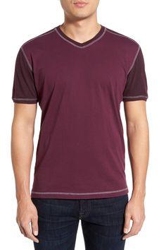 Agave | 'Rubicon' V-Neck Baseball T-Shirt | Nordstrom Rack