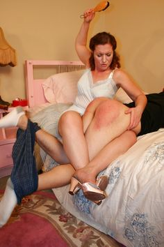 Older women who petticoat and spank young men