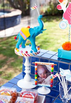 so doing this with dollar toy elephant painted