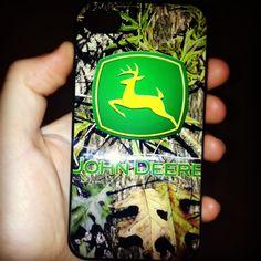 My John Deere iPhone case! Love it