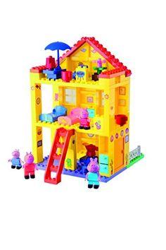 Big Peppa Pig Peppas House Building Sets BIG…
